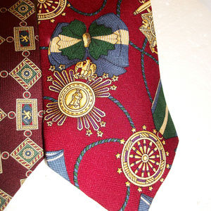 Tommy Hilfiger Accessories - Lot of 2 Tommy Hilfiger Mens Ties 100% Silk